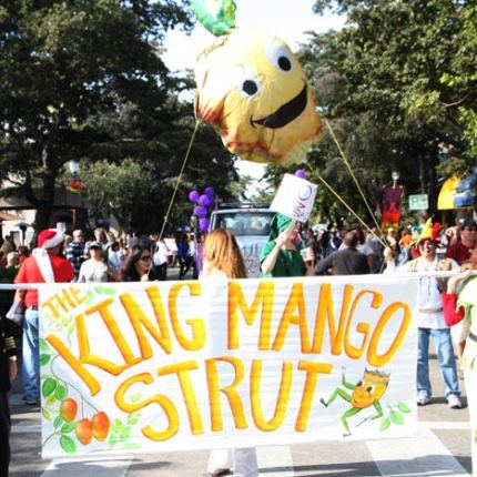 king mango strut parade