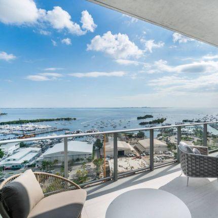 coconut grove apartment view