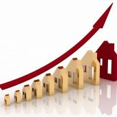 housing graph indicating upward trend_canstockphoto28604501-2